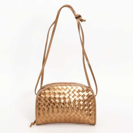BOTTEGA VENETA, chic shoulder bag,approx. 18x14x4cm; - photo 4