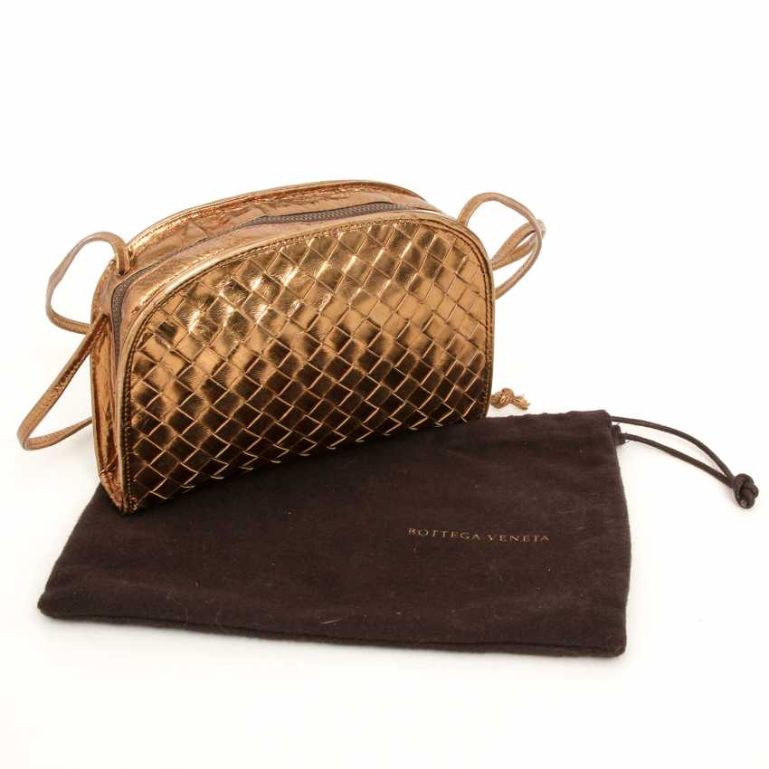 BOTTEGA VENETA, chic shoulder bag,approx. 18x14x4cm; - photo 5