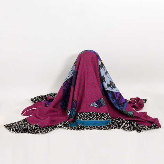 """HERMES exquisites Grandfoulard """"A HORSE ON MY SQUARE"""" - photo 1"""