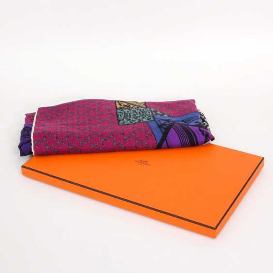 """HERMES exquisites Grandfoulard """"A HORSE ON MY SQUARE"""" - photo 2"""
