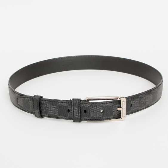 LOUIS VUITTON popular belt, approx. original price €300.-, Length: 85cm; - photo 1