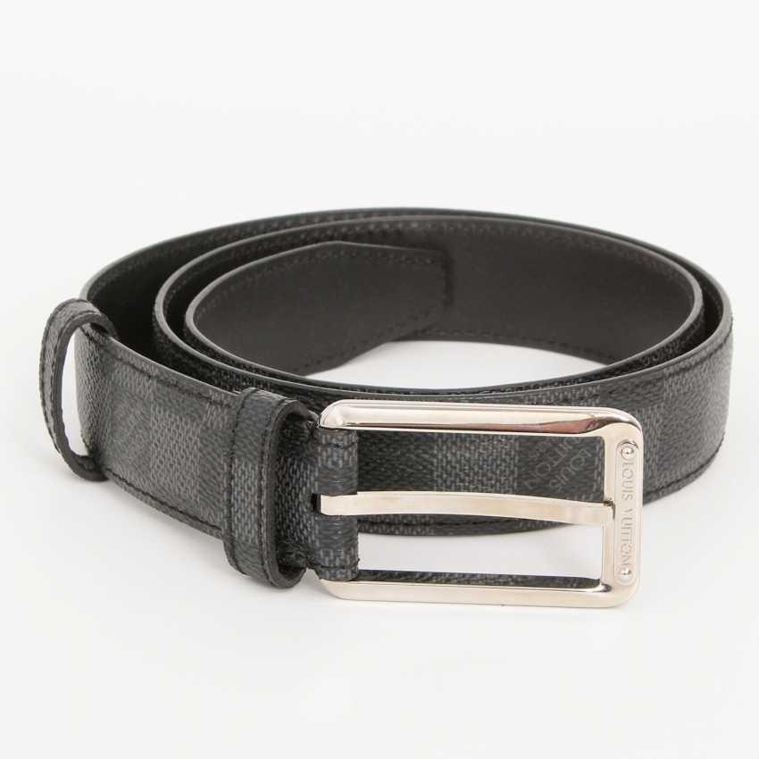LOUIS VUITTON popular belt, approx. original price €300.-, Length: 85cm; - photo 2
