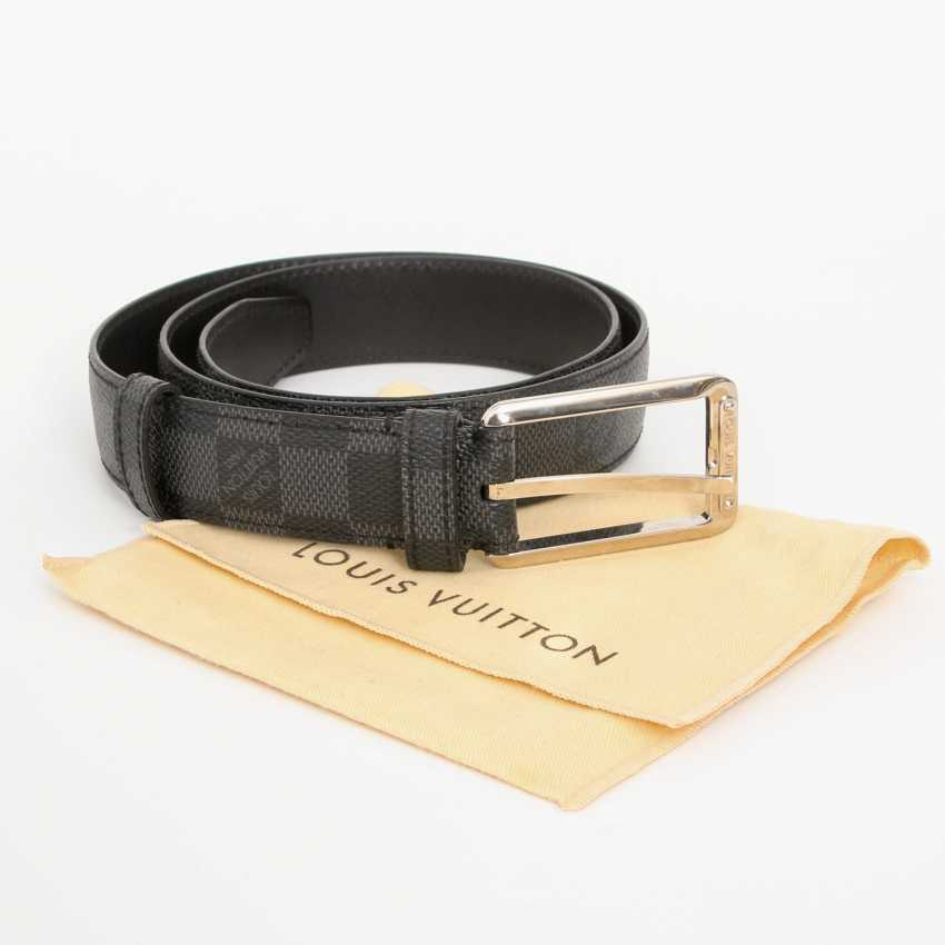 LOUIS VUITTON popular belt, approx. original price €300.-, Length: 85cm; - photo 3