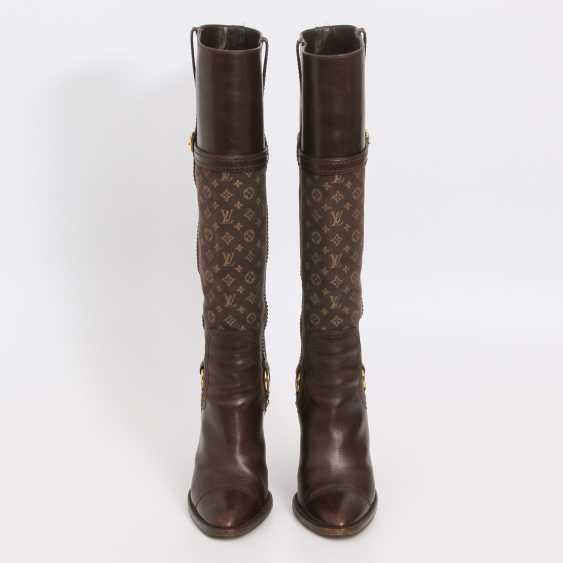 LOUIS VUITTON lovely high boots, Sz.37. - photo 1