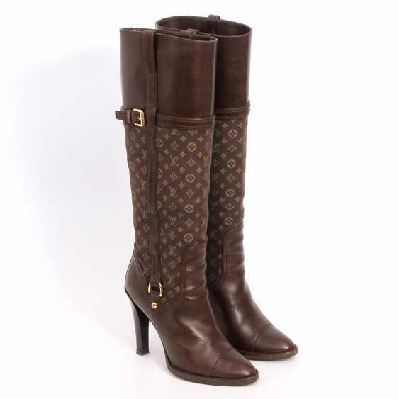 LOUIS VUITTON lovely high boots, Sz.37. - photo 2