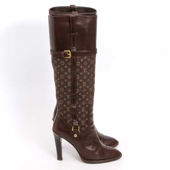 LOUIS VUITTON lovely high boots, Sz.37. - photo 3