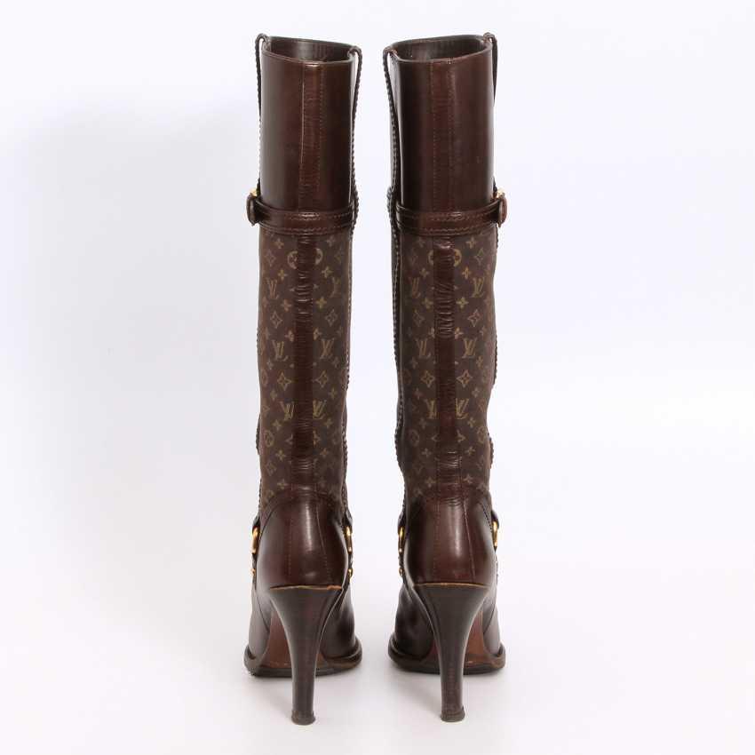 LOUIS VUITTON lovely high boots, Sz.37. - photo 4