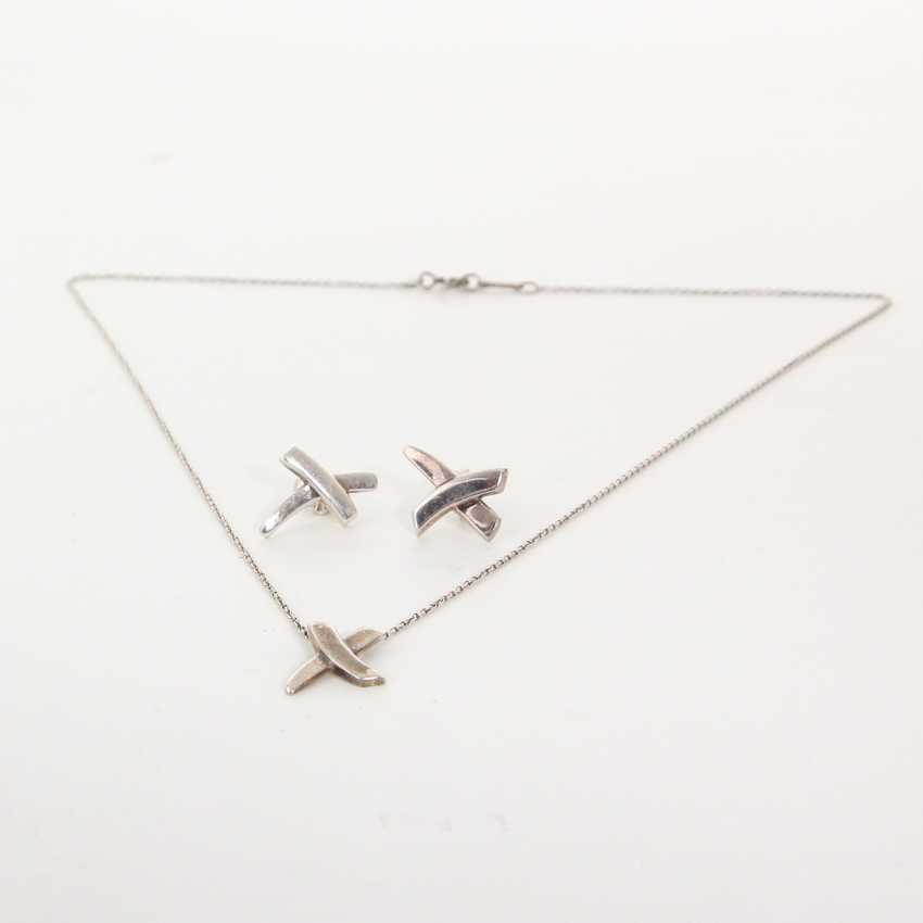 TIFFANY&Co. by PALOMA PICASSO edles Silber-Schmuck Set. - photo 1