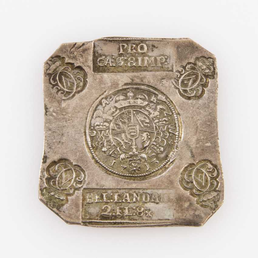 Württemberg - Sided cliff to 2 guilders 8 Kreuzer 1713, Charles Alexander, 1713, - photo 1