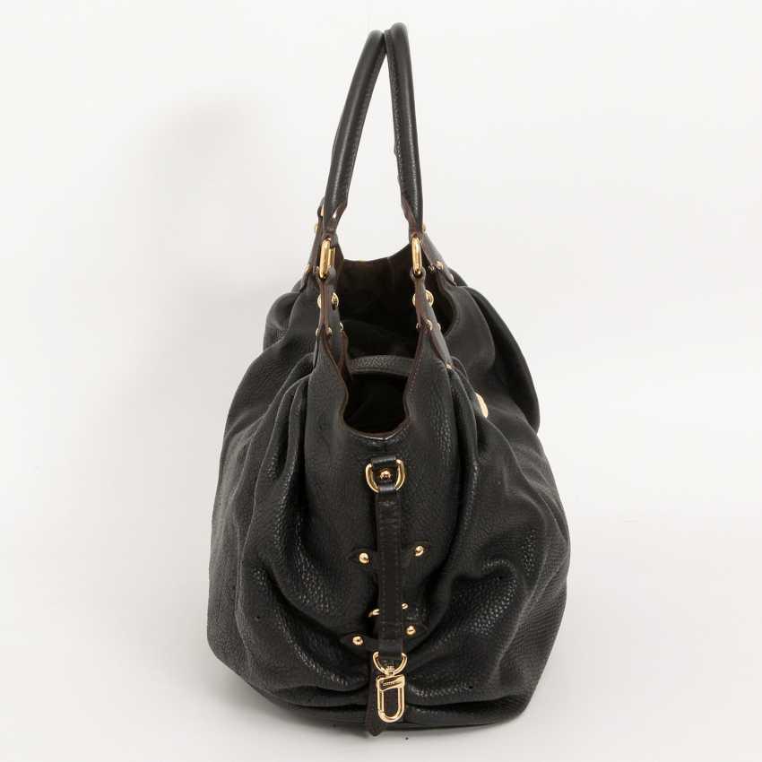 """LOUIS VUITTON exclusive Hobobag """"MAHINA XL"""", collection 2009. - photo 3"""