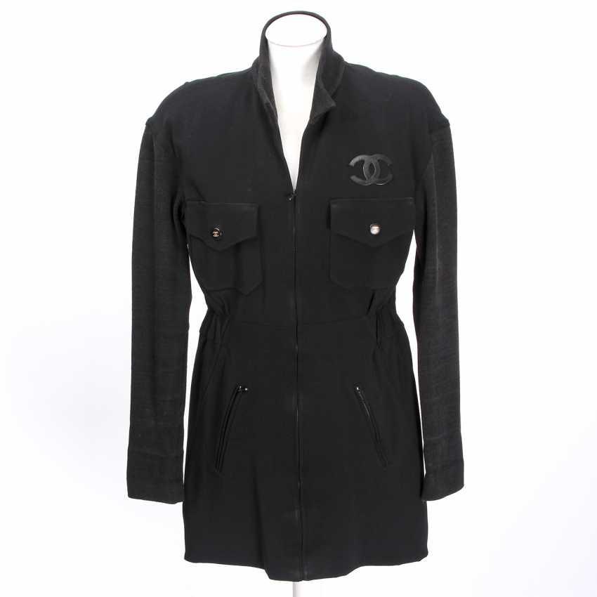 CHANEL sporty jacket, size 38. - photo 1