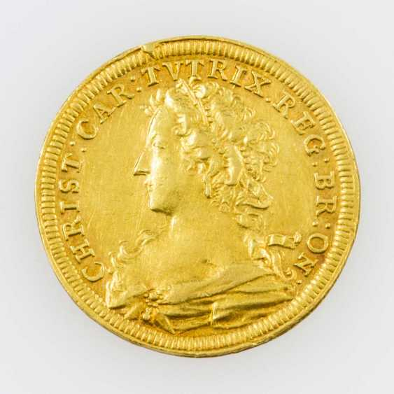 Brandenburg-Ansbach/Gold - Ducat 1726, Christiane Charlotte of Brandenburg-Anbach, - photo 1