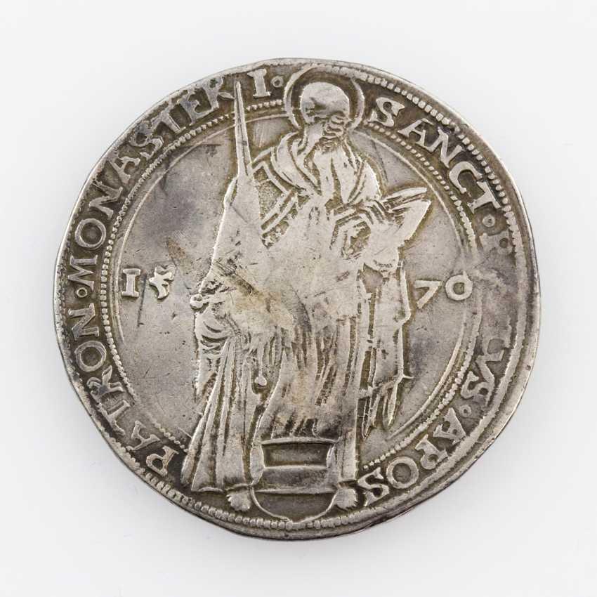 Diocese of Münster - Taler 1570, Johann IV. von Hoya, Av: Standing Paul - photo 1