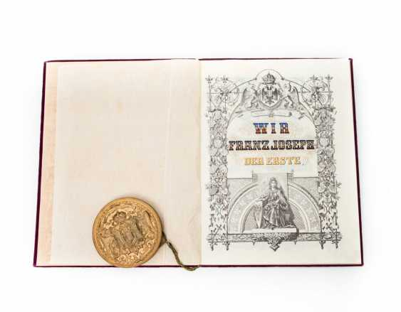 Imperial Austrian nobility diploma, - photo 2