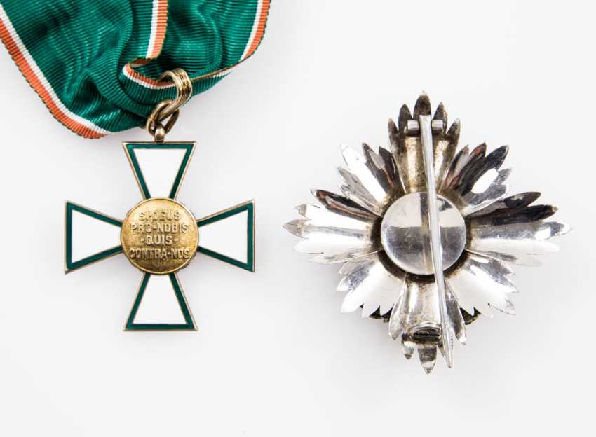 Hungary - Kommandeurset 1. Class of the order of merit of Hungary - photo 1