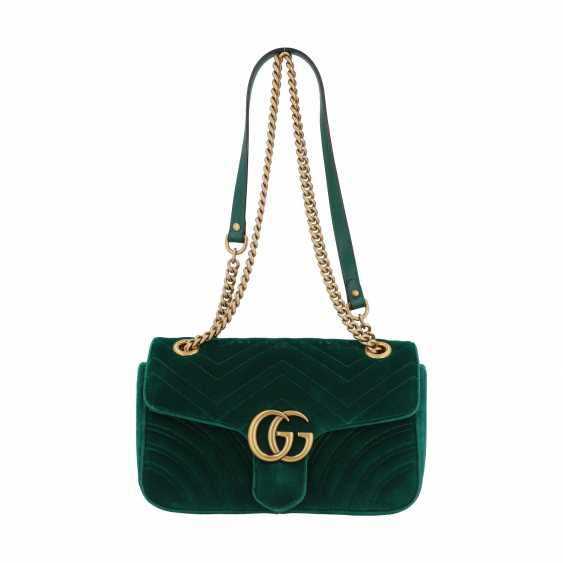 "GUCCI shoulder bag ""GG MARMONT"", current new price: 1.390,-€. - photo 1"