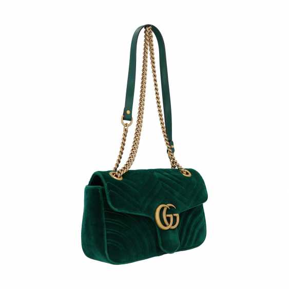 "GUCCI shoulder bag ""GG MARMONT"", current new price: 1.390,-€. - photo 2"