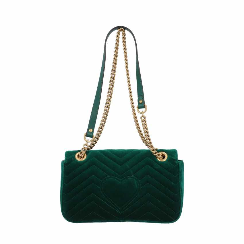 "GUCCI shoulder bag ""GG MARMONT"", current new price: 1.390,-€. - photo 4"
