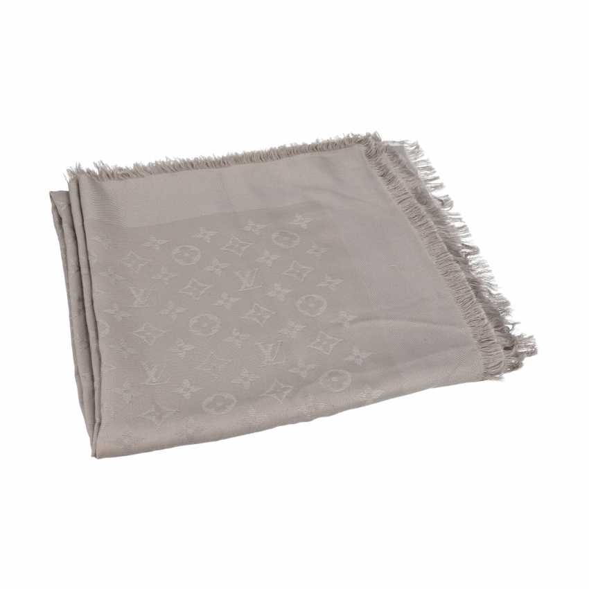 "LOUIS VUITTON Foulard ""MONOGRAM"", current new price: 460,-€. - photo 1"