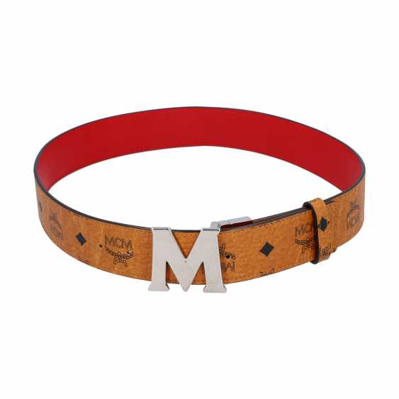 MCM reversible belt, original price: 295,-€, length: 90cm. - photo 1