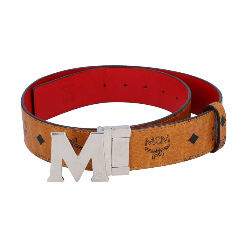 MCM reversible belt, original price: 295,-€, length: 90cm. - photo 2