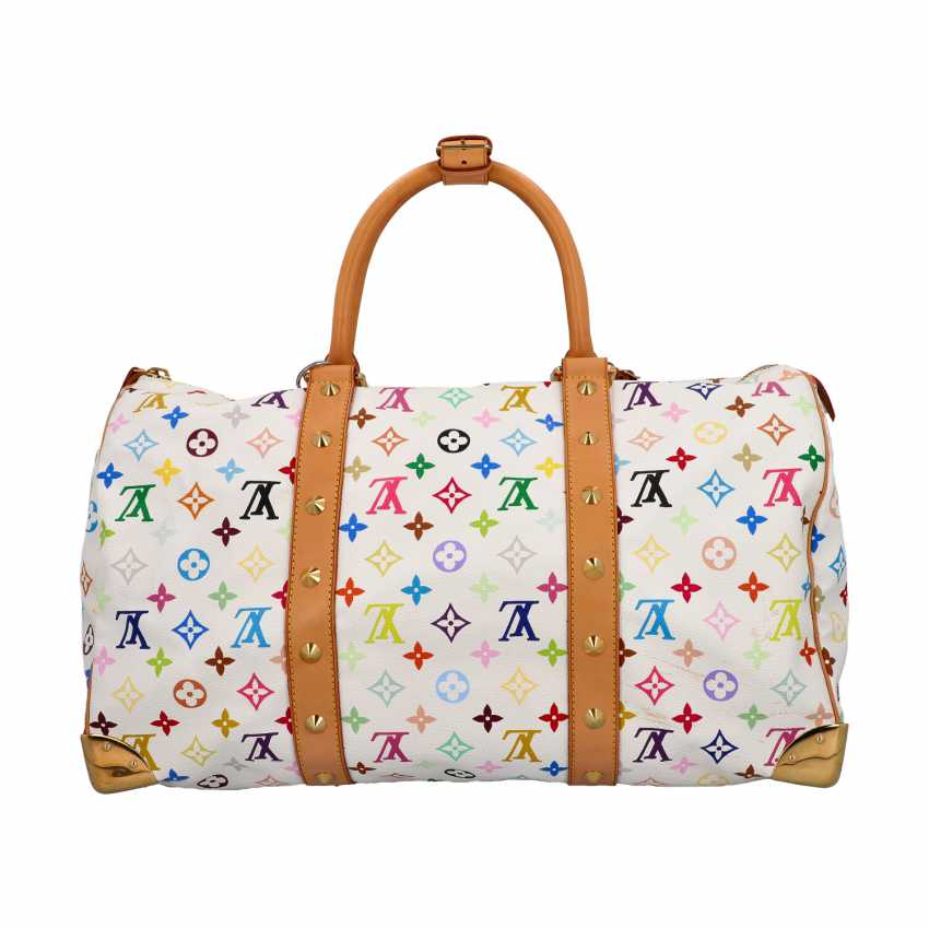 """LOUIS VUITTON weekend bag """"KEEPALL 45"""", collection 2003. - photo 1"""