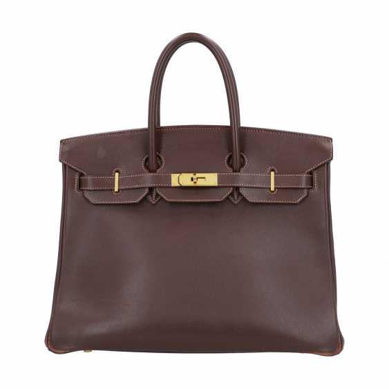 "HERMÈS VINTAGE Handbag ""BIRKIN BAG 35"", Collection 1999 - photo 1"