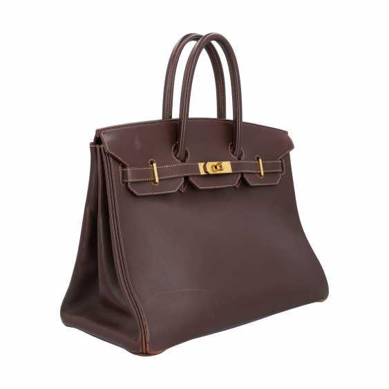"HERMÈS VINTAGE Handbag ""BIRKIN BAG 35"", Collection 1999 - photo 2"