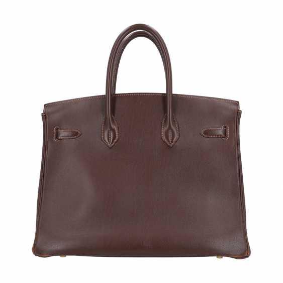 "HERMÈS VINTAGE Handbag ""BIRKIN BAG 35"", Collection 1999 - photo 5"