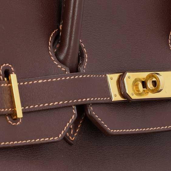 "HERMÈS VINTAGE Handbag ""BIRKIN BAG 35"", Collection 1999 - photo 6"