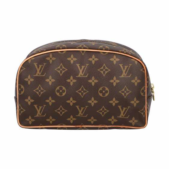 "LOUIS VUITTION cosmetic bag ""TROUSSE TOILETTE 25"", collection 2010. - photo 4"