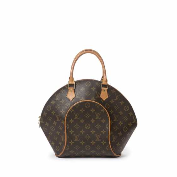 """LOUIS VUITTON VINTAGE handbag """"ELLIPSE MM"""", in the collection in 1997. - photo 1"""