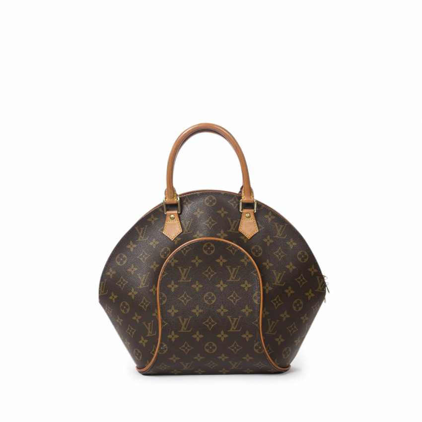 """LOUIS VUITTON VINTAGE handbag """"ELLIPSE MM"""", in the collection in 1997. - photo 3"""