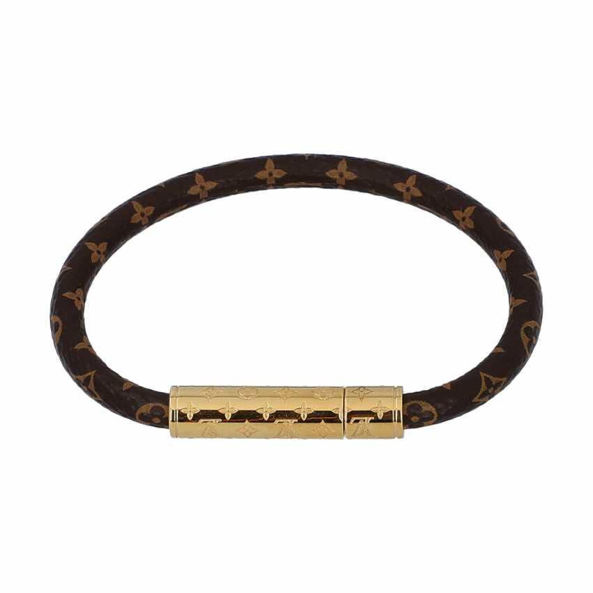 """LOUIS VUITTON Bracelet """"CONFIDENTIAL"""",acte. Prix neuf: 170,-€. - photo 1"""