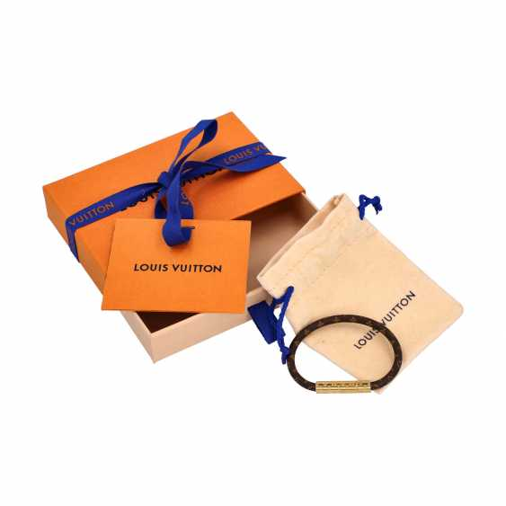 """LOUIS VUITTON Bracelet """"CONFIDENTIAL"""",acte. Prix neuf: 170,-€. - photo 3"""