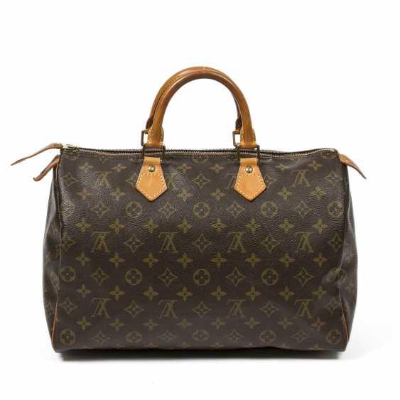 """LOUIS VUITTON VINTAGE handbag """"SPEEDY 35"""", collection 1991. - photo 1"""