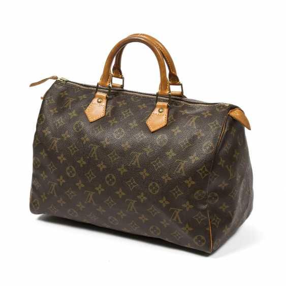 """LOUIS VUITTON VINTAGE handbag """"SPEEDY 35"""", collection 1991. - photo 2"""