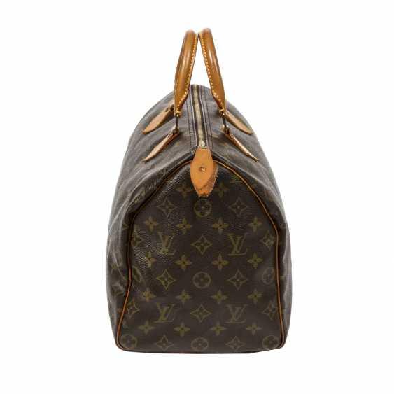 """LOUIS VUITTON VINTAGE handbag """"SPEEDY 35"""", collection 1991. - photo 3"""