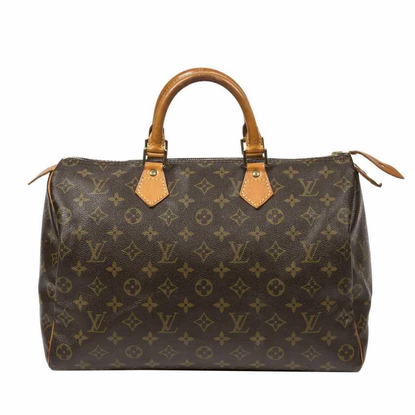 """LOUIS VUITTON VINTAGE handbag """"SPEEDY 35"""", collection 1991. - photo 4"""
