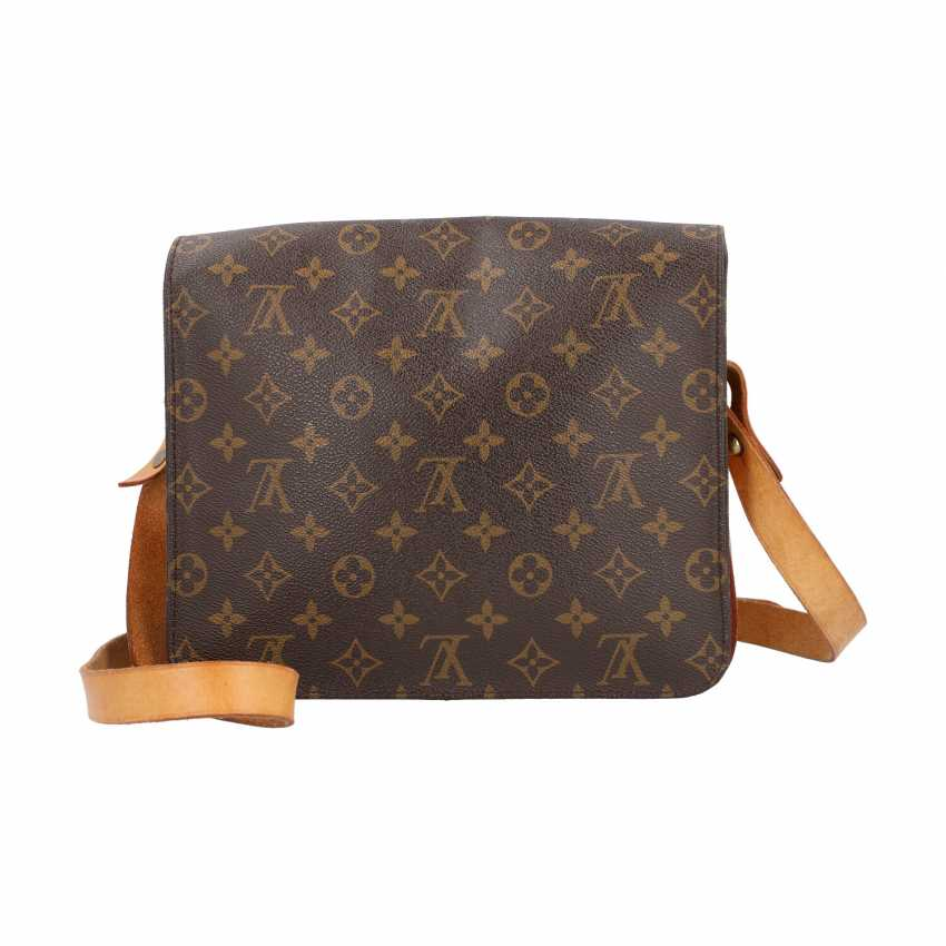 """LOUIS VUITTON VINTAGE collection. Shoulder bag """"CARTOUCHIERE"""", in the collection in 1989. - photo 4"""