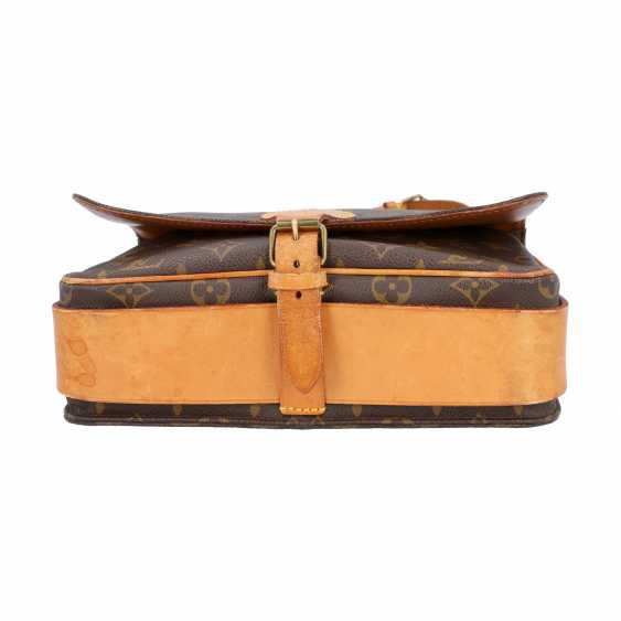 """LOUIS VUITTON VINTAGE collection. Shoulder bag """"CARTOUCHIERE"""", in the collection in 1989. - photo 6"""