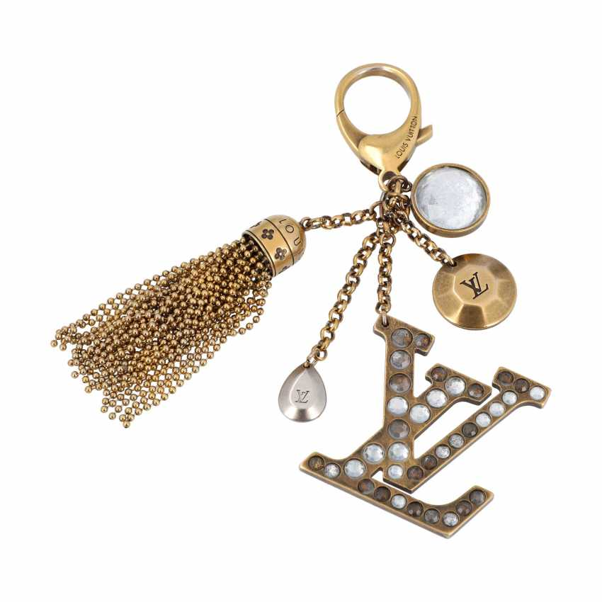 "LOUIS VUITTON bag charm, ""BIJOU SAC CAPRICE"", price: 320,-€. - photo 1"