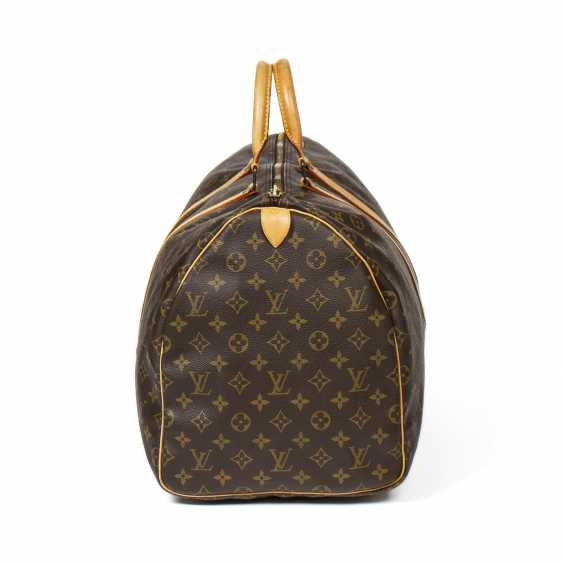 "LOUIS VUITTON weekend bag ""KEEPALL 55"", collection 1991. - photo 6"