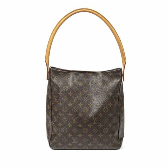 """LOUIS VUITTON shoulder bag """"LOOPING GM"""", collection 2001. - photo 1"""