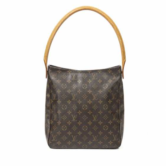 """LOUIS VUITTON shoulder bag """"LOOPING GM"""", collection 2001. - photo 3"""