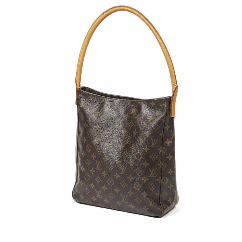 """LOUIS VUITTON shoulder bag """"LOOPING GM"""", collection 2001. - photo 6"""