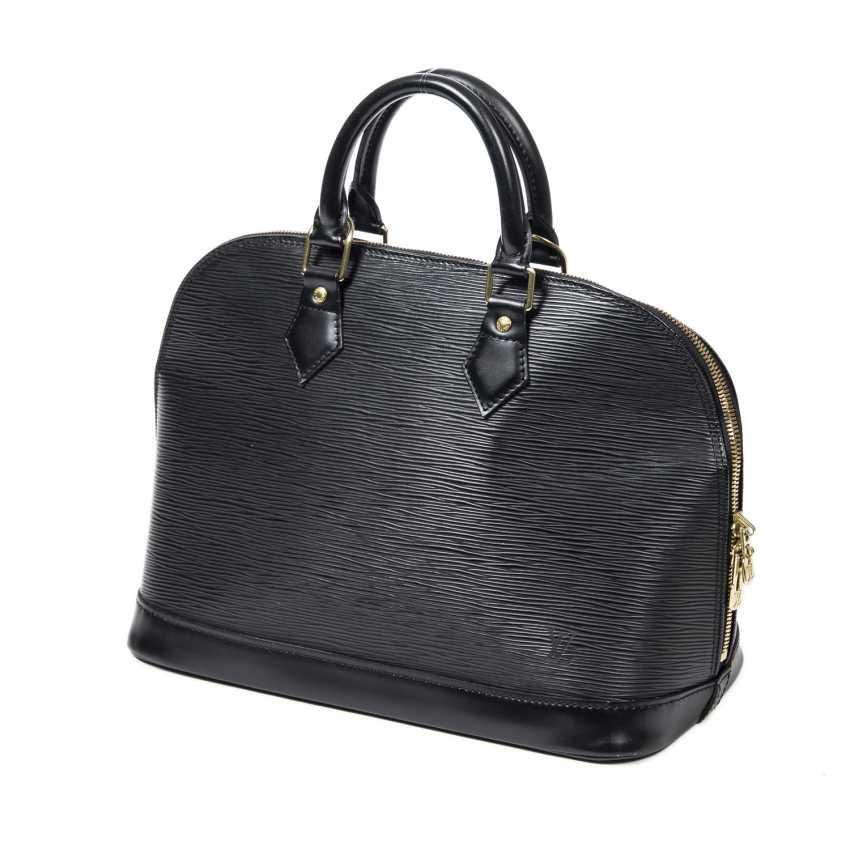 """LOUIS VUITTON handbag """"ALMA PM"""", collection 2001. - photo 5"""