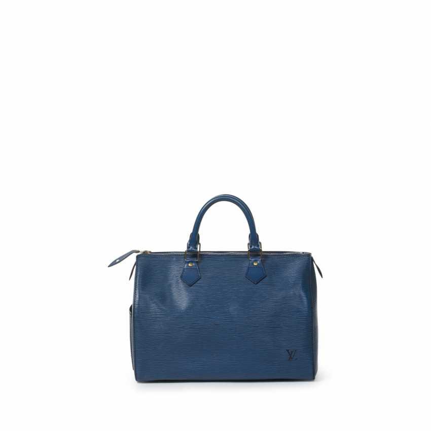 """LOUIS VUITTON VINTAGE handbag """"SPEEDY 30"""", collection 1991. - photo 3"""