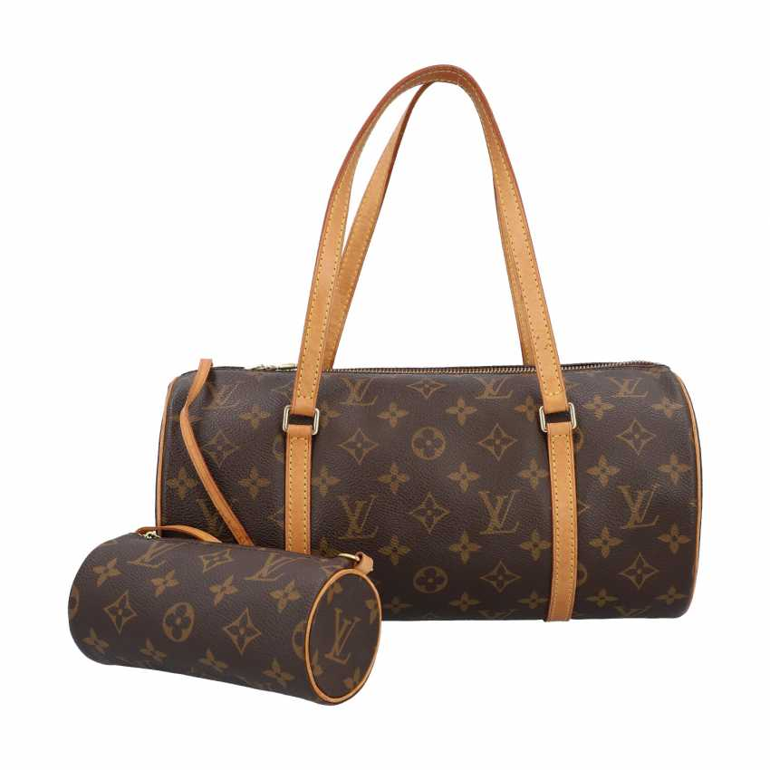 """LOUIS VUITTON shoulder bag """"PAPILLON"""", in the collection in 2004. - photo 1"""