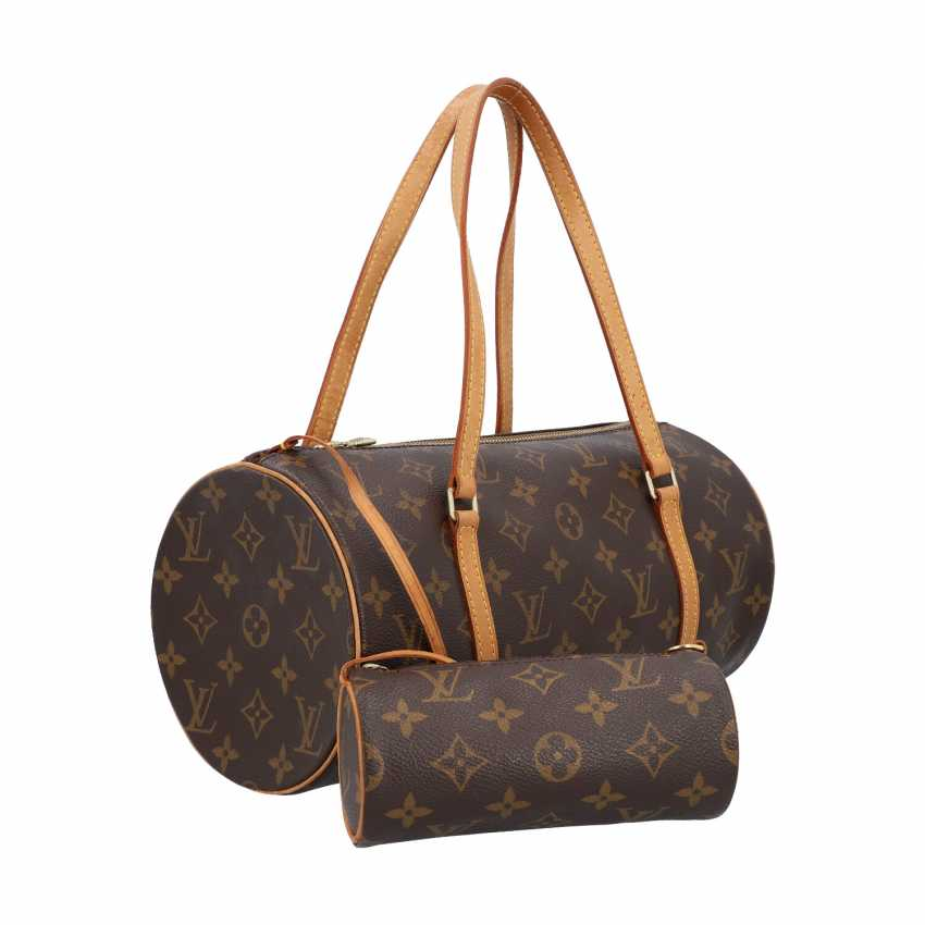 """LOUIS VUITTON shoulder bag """"PAPILLON"""", in the collection in 2004. - photo 2"""